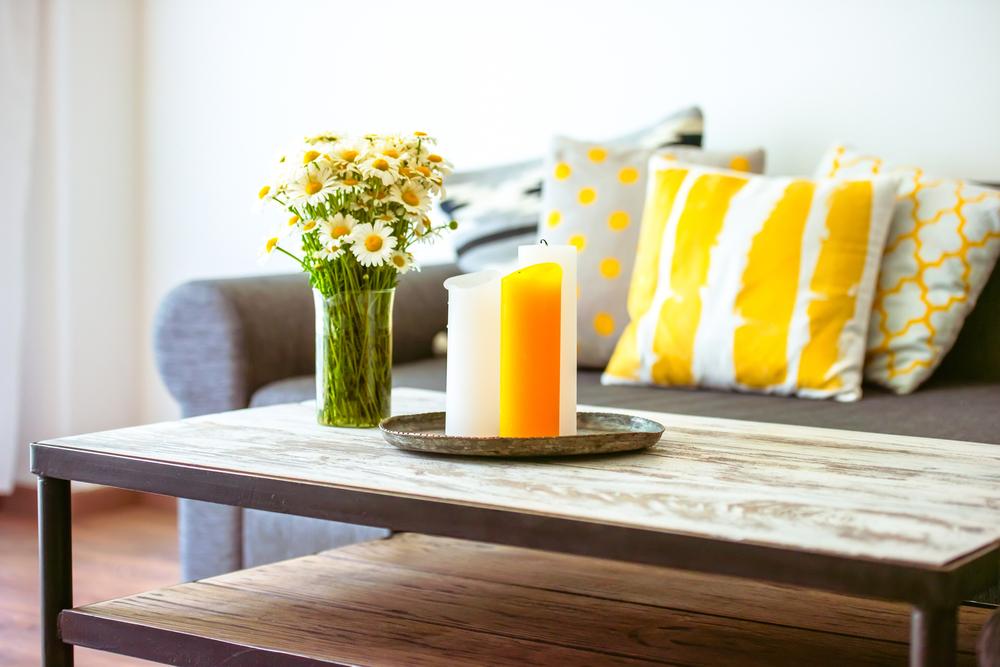 Frisk stil i hjemmet med smarte sofaborde