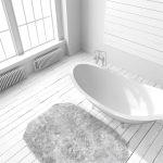 Husk bademåtter på badeværelset