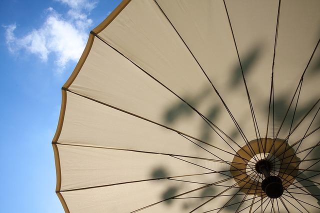 Pas på din parasol og forlæng dens levetid